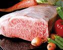 [地元食材応援]JAコラボコース(地元産魚+能登牛サーロイン)