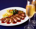 【Anniversary Course】 アニバーサリーデザート付 全7品+乾杯スパークリング(魚&肉料理Wメイン)