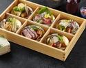 SHARI特製ソーシャルディスタンス ミニ懐石◆※コロナ対策■1人1皿スタイルで料理の取り分け不要 フリードリンク付き