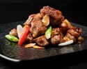 Stir-fried Diced Beef with Sliced Garlic (S) 蒜片牛柳粒 (小)