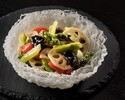Stir-fried Asparagus, Fungus and Lotus Root (S) 伴水芹香 (小)