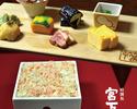 高級海苔と厳選素材のランチ【毛蟹のお海苔ご飯のみやした御膳】