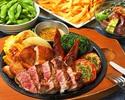 <2H飲放付>スタミナ満点!【厳選肉コンボ】ハワイアンBBQコース