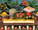 【Dessert Buffet】Juicy Summer Fruit Dessert ~ Escape @SEALA ~