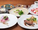 北から南、日本各地の旬の食材とシェフの感性が融合したフルコース