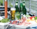 【飲み放題付き】お肉も魚介も楽しみたいならボリューム満点Luxury BBQ Plan (持込みも無料)
