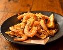 【TAKEOUT】芝海老のフリット / Flied shiba-shrimp