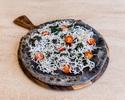 Nero flatbread, whitebait, cherry tomatoes, kale, spinach