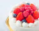【お持ち帰り用】苺のショートケーキ(ホール:丸型 12cm)