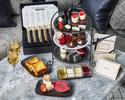 【Black&Whiteアフタヌーンティー】スイーツ等12種!紅茶6種おかわり自由(平日)+バースデーボックス