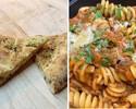 Take Out Pasta Set (Focaccia + Fusilli alla Bolognese)