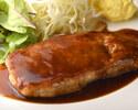 【ディナー】ポークソテーガーリック醤油(ライス付)