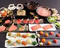 【極みコース全13品】2時間30分制◆肉寿司に稀少部位も◆