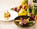 【2日前要予約】おかやまモン・テ・メール~フランス料理で旅する岡山の山と海~