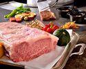 Omar shrimp and Japanese black beef Teppanyaki course
