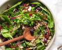 Mesclun Salad with Beans and Grains