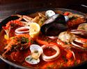 【8月土曜日限定・乾杯ドリンク付き】本格スペイン料理タパスや人気のパエリアを味わう!特別価格2000円