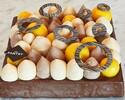 Passion Fruit Caramel Gateau - 20cm