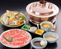 SHABU SHABU - HOSHI course(with Top Quality Beef)