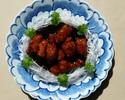 栃木県産あさの豚の黒酢酢豚