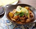 【テイクアウト】豚肉とアサリの炒め煮