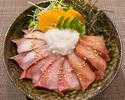 【テイクアウト】3種のブリ胡麻とろろ丼