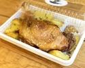 鴨もも肉コンフィ(低温調理)