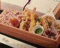 七種の天ぷら弁当 (白米でのご用意)
