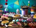 [7~12years old/Prepaid] SOCO Halloween Sweets a-la-carte Buffet Lunch