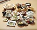【夕膳~檜~】福島県産の魚をメインで堪能!蕪蒸し、常磐ものお造り、わっぱ蒸しなど全9品