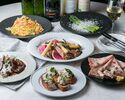 メインには魚料理と肉料理のフルコース☆★大満足GARB贅沢プラン★☆!!料理全11品+飲み放題150分付!