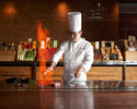 【Lunch Official Online Bonus Welcome Drink! 】 Fish dishes and Japanese A4 Kuroge wagyu beef 80 g, garlic rice as well! Keyakizaka Lunch Menu B