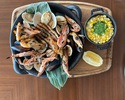 Seafood charcoal grill (for 2 people)