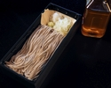 【テイクアウト】特製手打ち生蕎麦(お一人様分100g)と塩出汁 ※限定:20セット/日