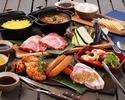 【10月1日~平日ランチ限定★2名様、3名様専用】SEASIDE BBQプラン!