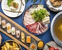 【期間限定食べ放題】京鴨しゃぶしゃぶと京寿司22種食べ放題コース