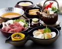 【昼食】 瓢箪御膳(ひょうたんごぜん)『季節の小鍋付き』