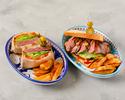 【9月のスペシャルメニュー】選べる2種のがっつり肉サンドセット