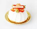 苺のショートケーキ ホール15㎝