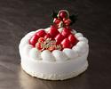 クリスマス ストロベリーショートケーキ Christmas Strawberry Short Cake 8号(24cm)
