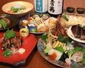 【11月~】よさこいコース12品 お料理のみ:5000円/2H豪華飲み放題付:6000円