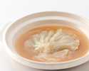 [Shark fin dinner] Shanghai simmered shark fin (pectoral fin) including 7 dishes + 2drink