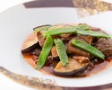 [Omi beef dinner] Shanghai style stew of shark fins (pectoral fins) and all 7 dishes including Omi beef