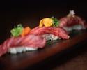 特製肉寿司 三種盛