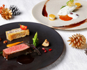 (Dec 23th to 25th)【WEB Limited】Atelier Christmas special Dinner with a glass of Champagne present