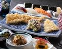 古き良き江戸の味と文化を楽しむ ~お台場大江戸台旬彩~ 天ぷらカウンター