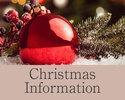 ◆ Christmas Information ◆