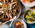 【Lunch】 Booking for Paella  course with free flow champagne for 90 min