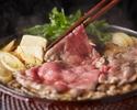 石垣牛すき焼き食べ放題+刺身付き