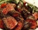 【出来立てお渡し】単品 牛ハラミステーキ+フレンチフライ